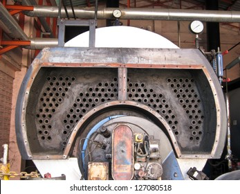 Industrial boiler plant