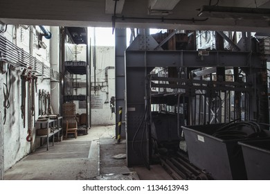Industrial building interior