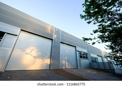 Industrial building in the surroundings of Barcelona in Catalonia Spain
