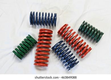 Industrial coil springs