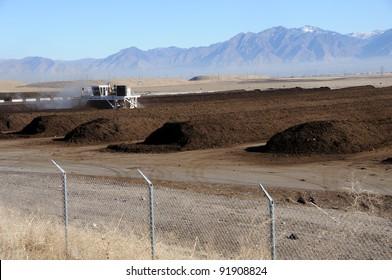 Industrial Composting at Utah Landfill