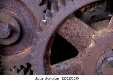 Industrial Concepts, Vintage Industrial Steampunk Cast Iron Gears or Cogwheels Sprocket For Furniture Project.