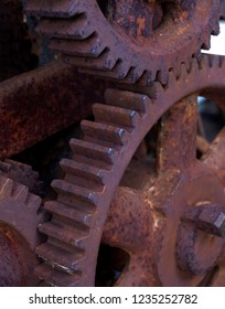 Industrial Concepts, Vintage Industrial Steampunk Cast Iron Gears or Cogwheels Sprocket For Furniture Project