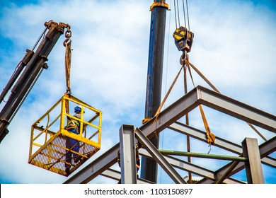 industrial construction worker frames