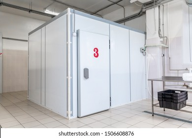 industrial cooling chamber outside view