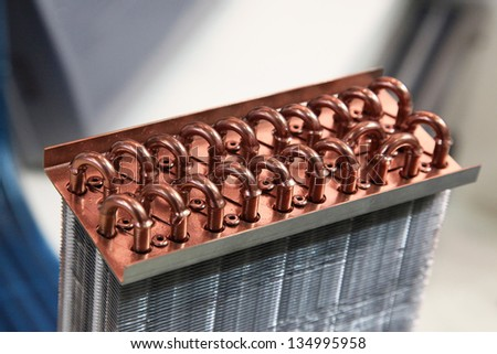 Industrial Cooling Unit Water-to-air Heat Exchanger fragment