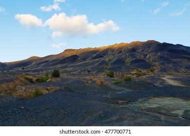 Industrial desert - ecological disaster in Karabash, Russia