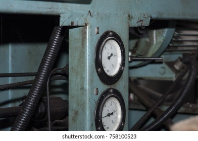 Industrial details close up