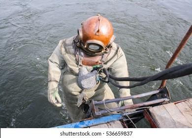 industrial diver