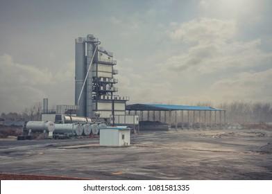 industrial equipment factory for making asphalt