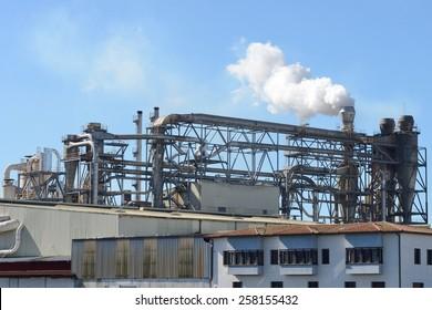 Industrial Factory Exterior