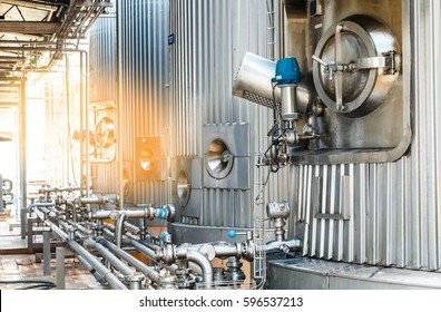Food Processing Factory Images, Stock Photos & Vectors
