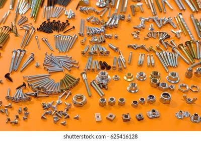 Industrial fasteners - nuts, bolts, screws