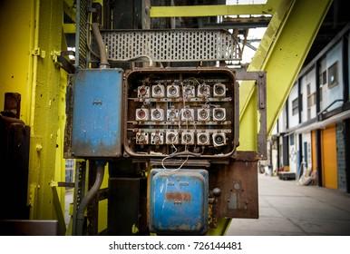 industrial fuse box