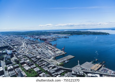 Industrial Harbor in Puget Sound