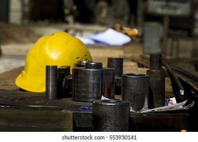 Industrial helmets and project materials