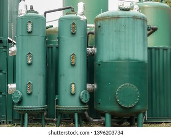 Industrial ion exchangers used in water purification