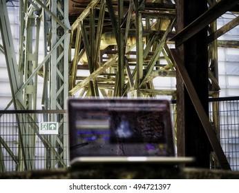 Industrial Laptop View