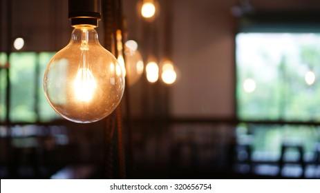 Industrial light bulbs.