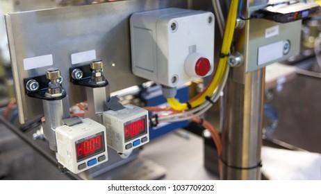 Industrial manometer display