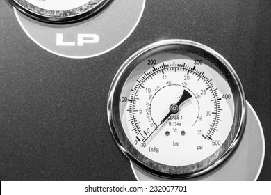 Industrial measurement device closeup