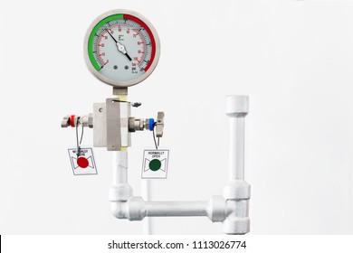 Industrial measurement sensor, process measurement, pressure gauge