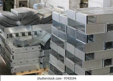 Industrial metal sheet product - used for manufacturing and heavy industry