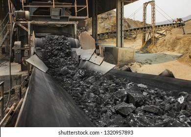 Förderband für Förderbänder für den industriellen Bergbau