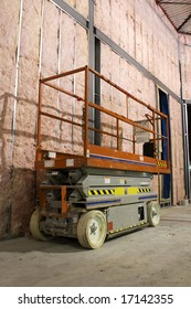 Industrial mobile scaffold