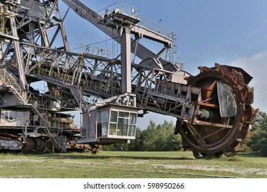 Industrial monument Ferropolis Excavator