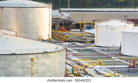 Industrial oil in petrochemical for background