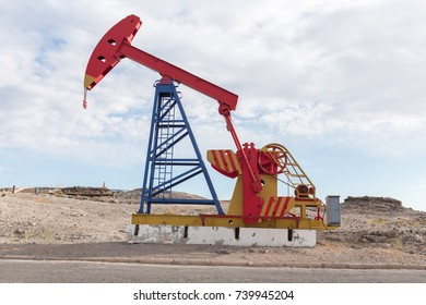 Industrial Oil Pump Jack Fracking Crude Extraction Machine