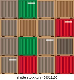 industrial patchwork pattern,  design elements. raster version
