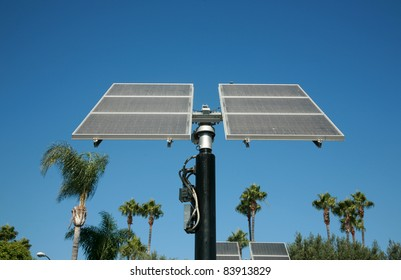 Industrial photovoltaic  cells also known as Solar Power or Solar Cells sit outside harnessing the power from the sun and turning it into free earth friendly electricity for use to run electronics