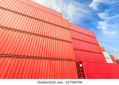 Industrial port container terminal