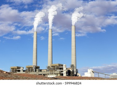Industrial Power Plant in Page, Arizona