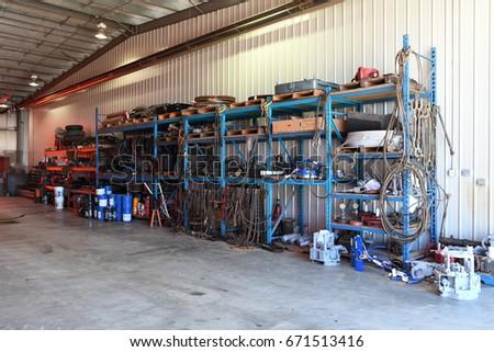 Industrial Shop Tool Storage Unit