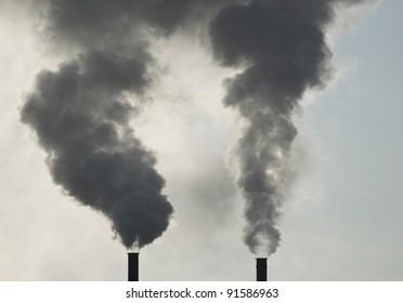 Industrial Smoke Stacks
