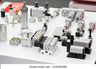 industrial solenoid valve for liquid, oil, air, pneumatic, hydraulic pipe line machine. control valve by PLC and computer. Automatic production line component