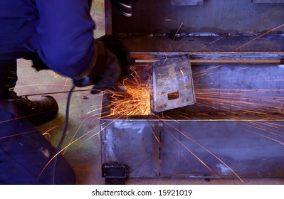 Industrial steel work