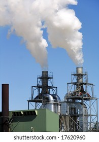 Industrial structure. Factory structure. Industry background