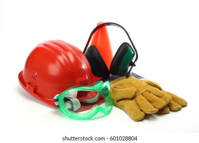 industrial tools and protective gear