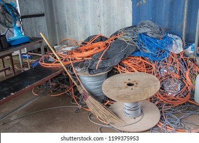 Industrial waste electrical wires