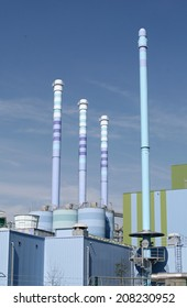 industrial waste incineration plant
