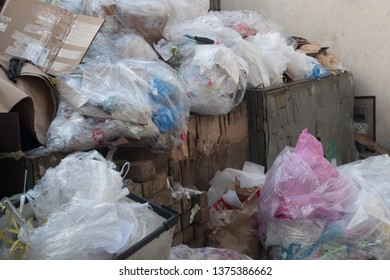 Industrial waste plastic and others type