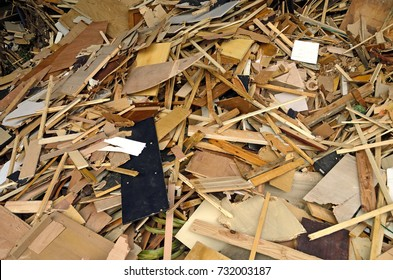 Industrial waste reused as wood chips