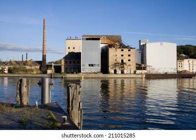 industrial wasteland