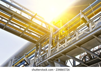 Industrial zone of steel pipe