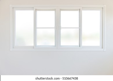 industry building construction Home interior white window on wall
