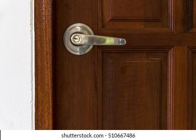 industry building construction Home Knob locks on the door